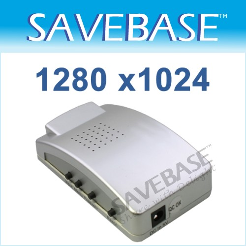 CCTV Composite Video AV To VGA Converter/ BNC To VGA