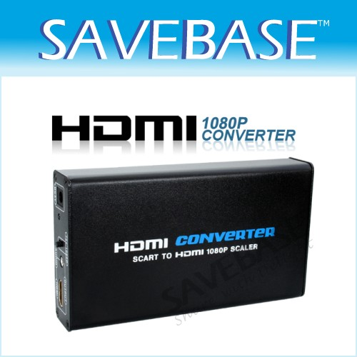 Scart To HDMI Converter For Sky Box STB DVD Wii Adapter