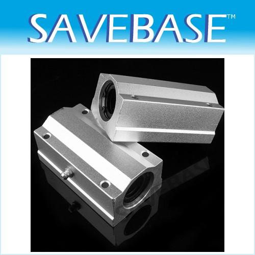 2pcs 13mm SC13LUU Linear Ball Slide Bearing Block CNC