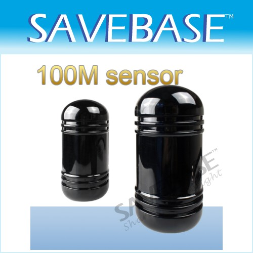 100M Dual Beam Infrared Barrier Detector For Alarm