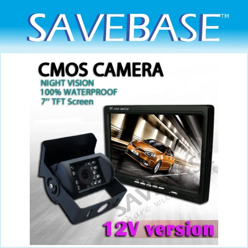 CMOS Rearview Camera & LCD Monitor For Car Reversing