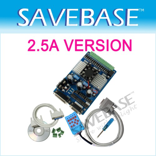 3 Axis TB6560 CNC Stepper Driver Board + Handle 2.5A