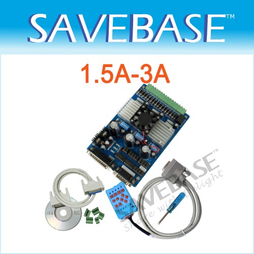 3 Axis CNC Stepper Driver Board + Control Handle 1.5-3A