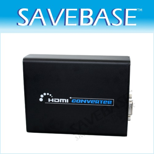 HDMI To VGA Video & 3.5mm Stereo Audio Converter 1080P