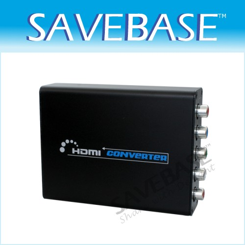 HDMI To Component Video YPbPr & Audio Converter Adapter