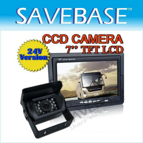"7"" TFT LCD Rearview Monitor + SONY CCD Reversing Camera"