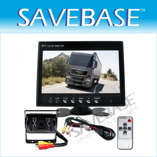 "2xTruck Wireless Reversing Rear View Camera +7"" Monitor"