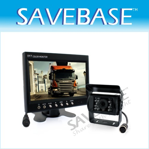 "Next Gen CCD Reversing Rear View Camera +7"" LCD Monitor"