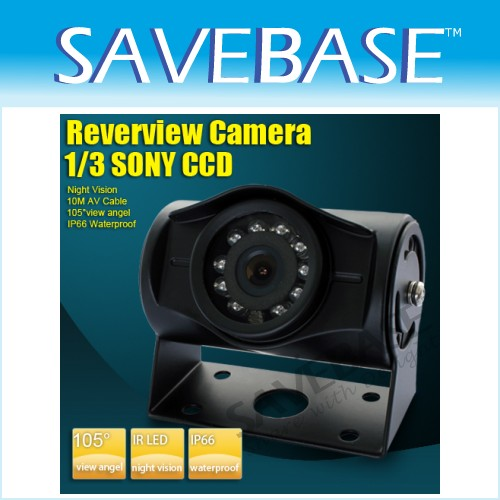 New Bus Van 12V CCD Rear View Camera LED Night Vision