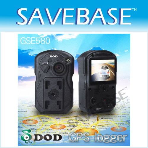 DOD GSE580 1080P Car Dash Camera IR Night Vision Cam Accident Recorder DVR + GPS