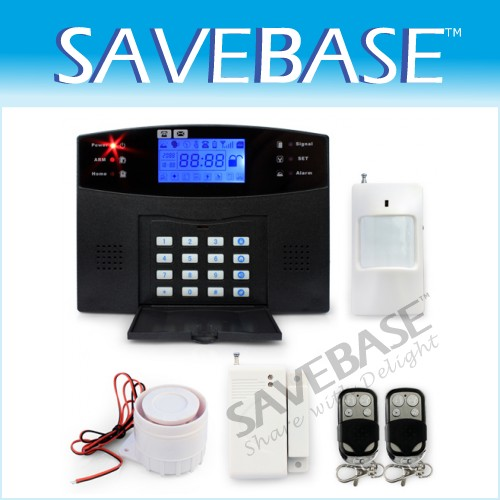106 Wired/Wireless Defense Zones GSM SIM Home Alarm System Remote Control