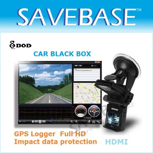 Original DOD GSE550 Full HD 1080P GPS Loggerr 5M Pixels CMOS Car Dash DVR HDMI