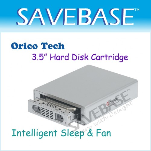 "3.5"" Hard Disk Enclosure Orico 3519SUS3 Support USB 3.0 And ESATA Interfaces"