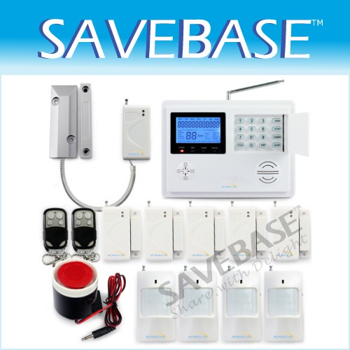 103 Wireless/Wired Zones Alarm System GSM/PSTN Triple Bands Chime Mode Function