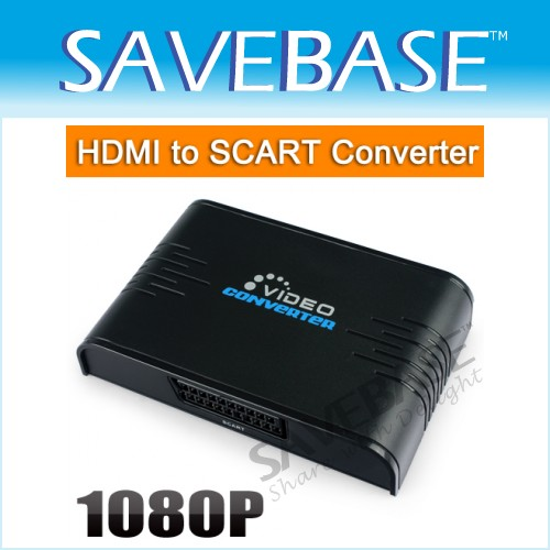 HDMI To Scart Converter Including Composite Video & Audio L/R