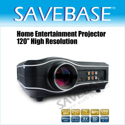 Game Projector 388 Home Theater DVD Player With USB/SD/MMC Interface