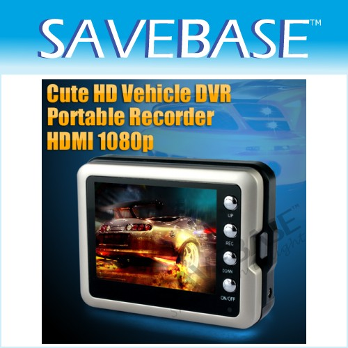 120° A+ Len Full HD Mini Portable Recorder Car DVR Cycle Record HDMI Out Motion