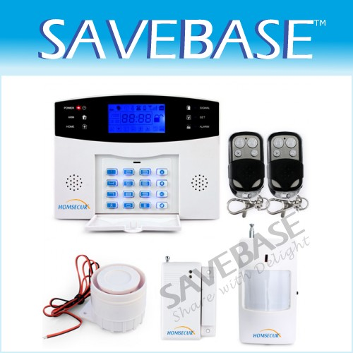 Security Wireless GSM Home House Burglar Intruder Alarm System SMS/Call/Autodial