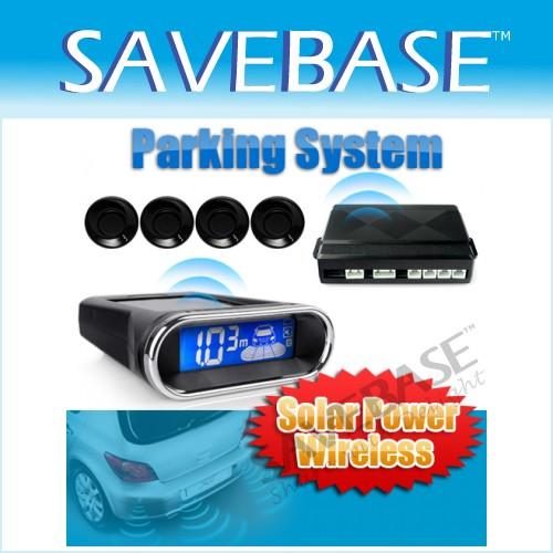 Parking Radar De Recul 4 Capteurs Alimentation Solaire / Chargeur Buzzer Voiture